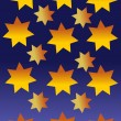 Royalty-Free Stock Vector Image: Star sky