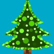 Original Christmas tree — Stock Vector