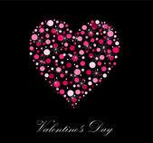 Valentine's heart — Stock Vector