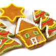 Colorful gingerbread — Stock Photo