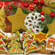 Stock Photo: Colorful gingerbread cookies