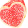Valentine's sweet hearts — Stock Photo