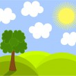 Spring landscape — Stock Vector #25791429