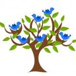 Fantasy tree — Stock Vector #26033003