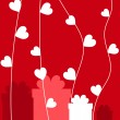 Royalty-Free Stock Immagine Vettoriale: Valentine card