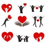 Heart concepts — Stock Vector