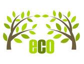 Eco vektor — Stockvektor