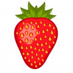 Strawberry vector — Stock Vector