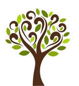 Tree symbol — Stock Vector