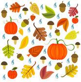 Autumnal texture — Stock Vector