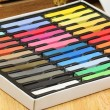 Stock Photo: Chalk pastel set