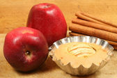 Small apple pie — Stock Photo