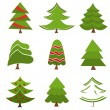 Christmas trees — Stock Vector #27294949