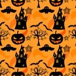 Halloween bezešvé — Stock vektor