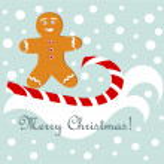 Gingerbread fun — Stock Vector