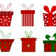 Christmas presents — Stock Vector #27295525
