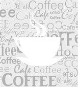 Coffee texture — Stock Vector