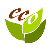Eco symbol — Stock Vector