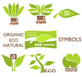 Eco logos — Stock Vector