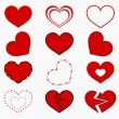 Hearts — Stock Vector #27522883