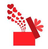 Love box — Stock Vector