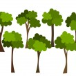 Trees — Stock Vector