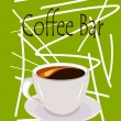 Coffee bar — Stock Vector #28632463