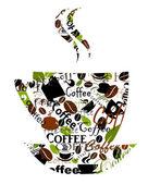 Coffee cup vector — Stock Vector
