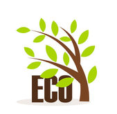 Eco symbol — Vector de stock
