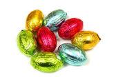 Uova pasquali al cioccolato — Foto Stock