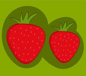 Strawberries — Stock Vector