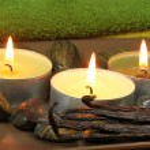 Spa with vanilla aroma — Stock Photo