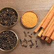Whole spices — Stock Photo