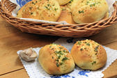 Garlic buns — Stock Photo