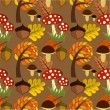 Autumn texture — Stock Vector