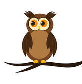 Owl — Stock Vector