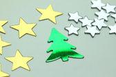 Christmas small ornaments — Stock Photo