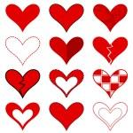 Hearts set — Stock Vector #31511217