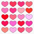 Stock Vector: hearts