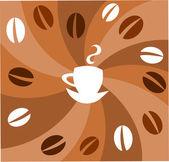 Coffee vector — Stock Vector