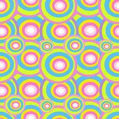 Seamless circles — Stock Vector