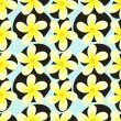 Frangipani flowers — Stockvectorbeeld