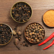 Spices top — Stock Photo