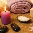 Spa candle — Stock Photo #33273151