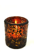 Autumn Candle holder — Stock Photo