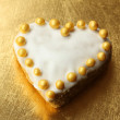 Stock Photo: Cookie heart