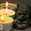 Candles spa — Stock Photo