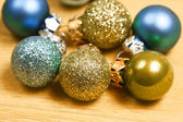 Christmas balls close up — Stock Photo