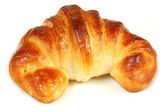 Croissant isolated — Stock Photo