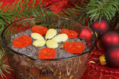 Polish Christmas food — Stock Photo
